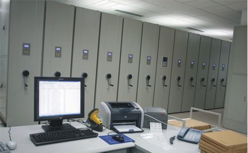 电脑型智能密集柜案例
