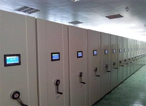 电动型智能密集柜架案例