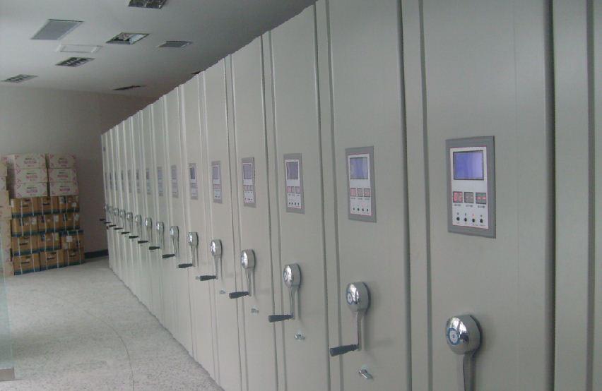 电脑型企业单位智能密集柜