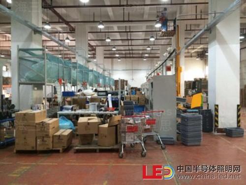 三思30W LED球泡灯应用于百联物流 树立仓储照明改造样本
