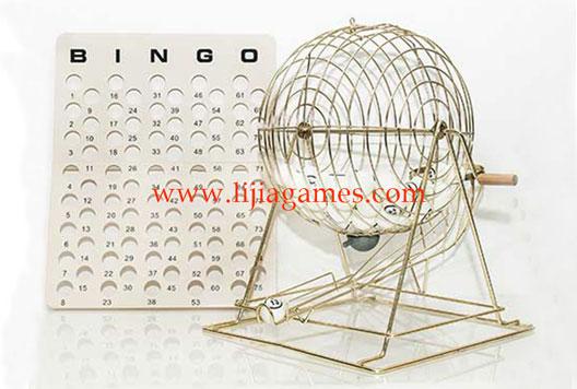 Professional 12 Inch Bingo Set