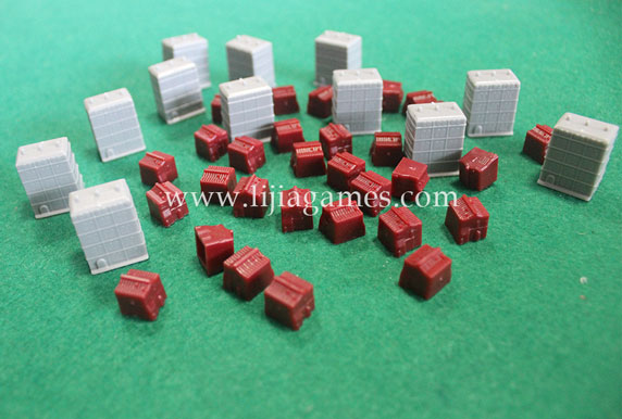 Picture of Bespoke plastic house pieces