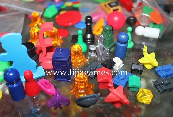 Picture of Plastic playing pieces series