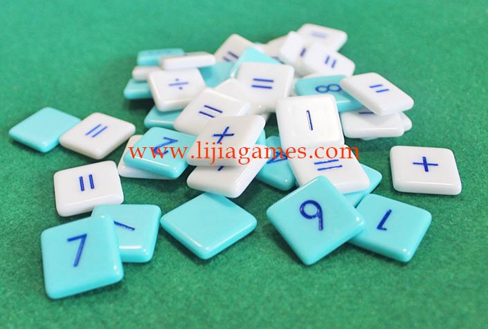 Picture of Plastic tiles game pieces
