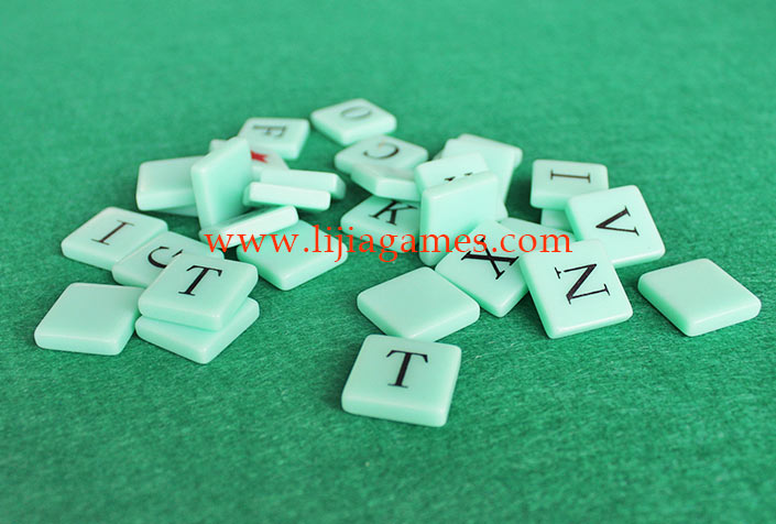 Picture of custom color plastic tiles