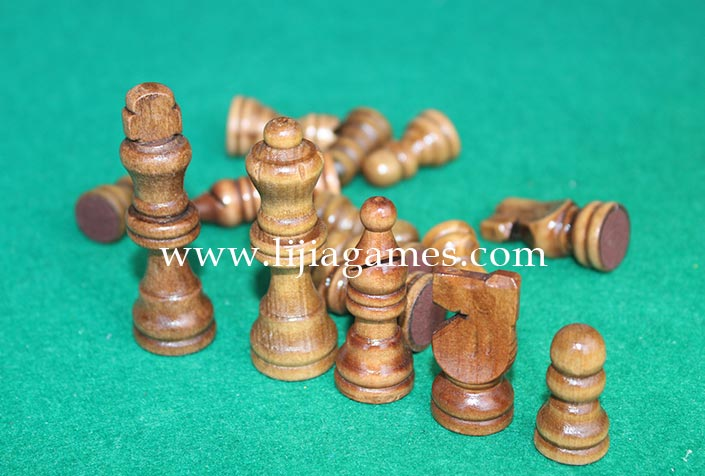 Picture of wood chess pieces