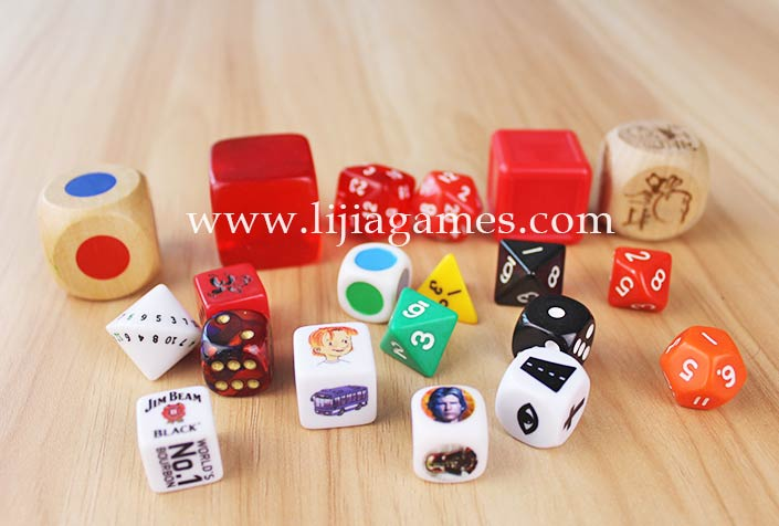 Picture of dice series
