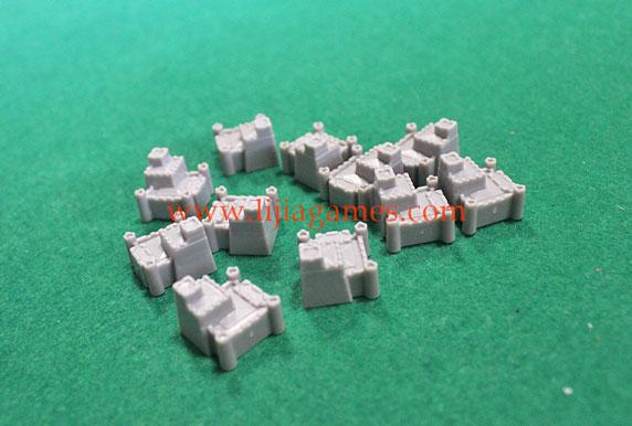 Picture of Bespoke plastic castle pieces