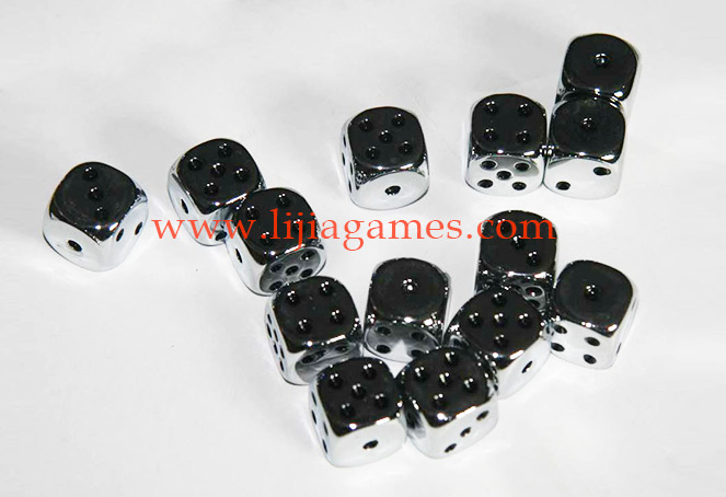Picture of Electroplated dice