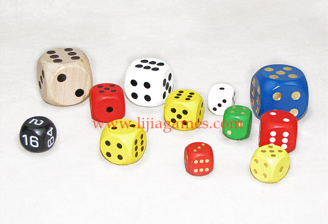 Picture of Wooden dice series