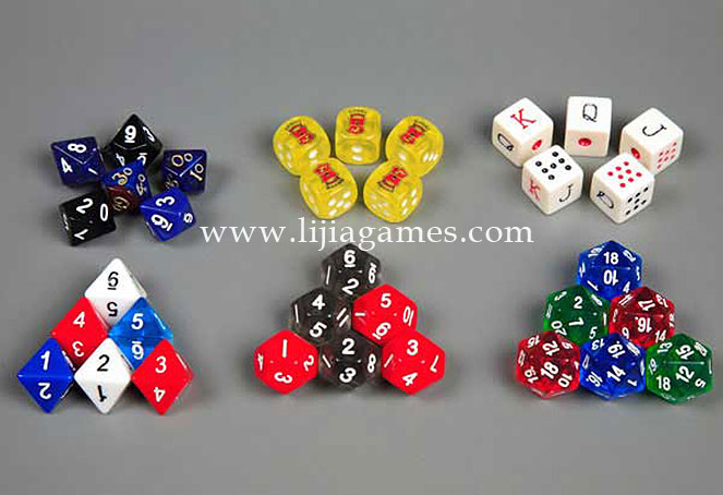 Picture of Polyhedron dice series