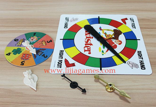 Custom Spinners & Arrows
