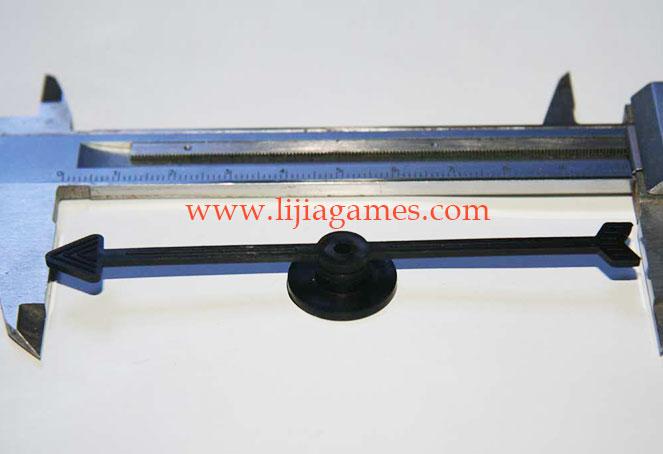 "4"" Fish Tail Spinner Arrow"