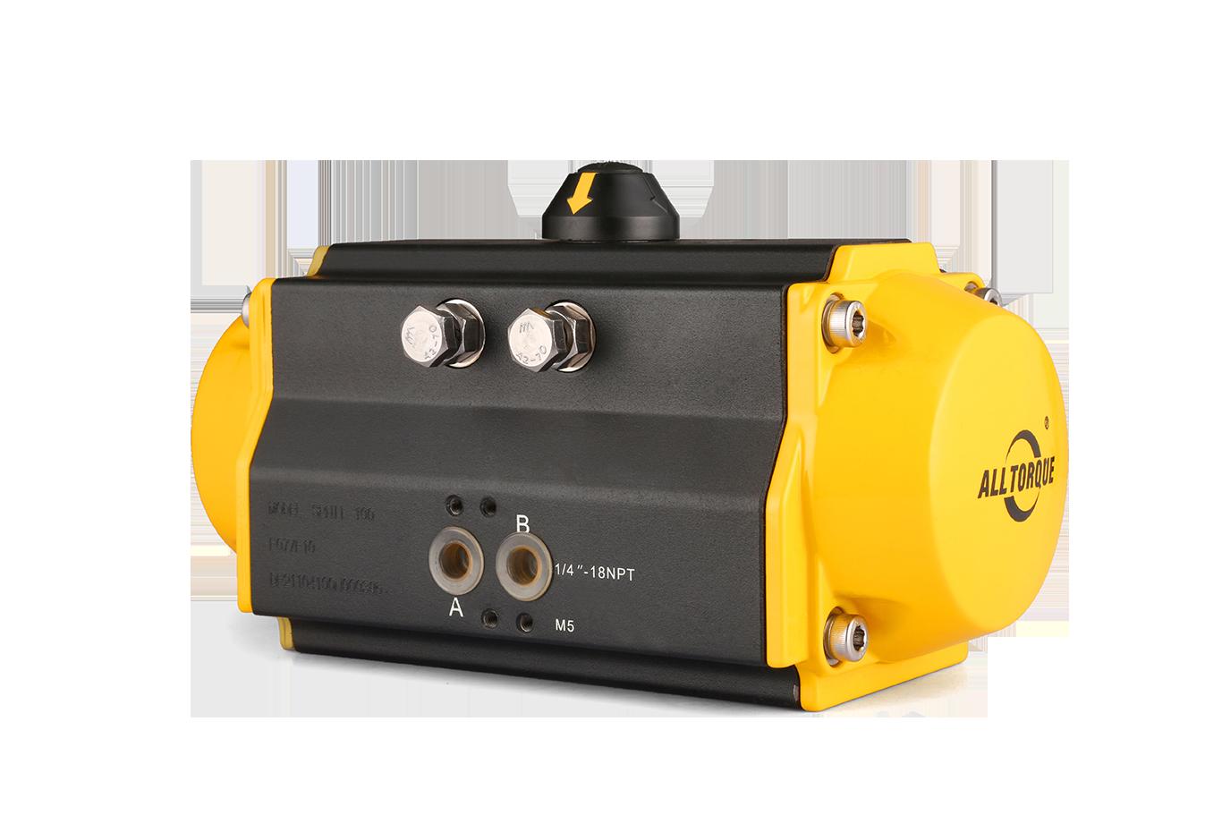 Two Piston Pneumatic Actuator-1
