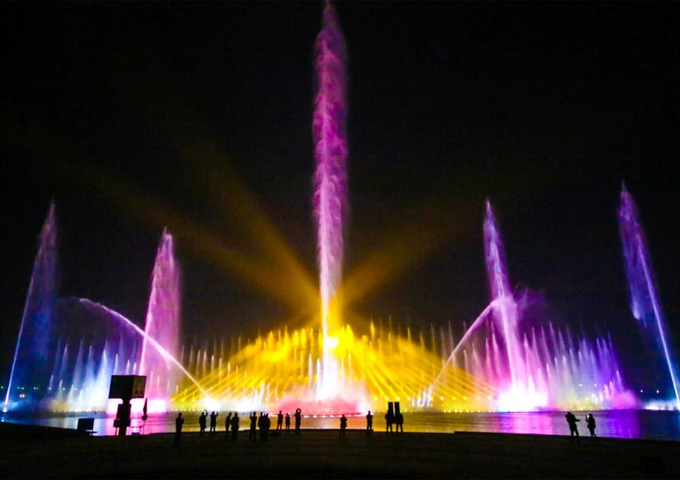 湘潭市仰天湖音乐喷泉