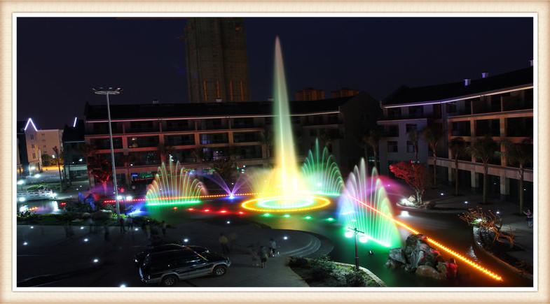 曲靖职教中心音乐喷泉