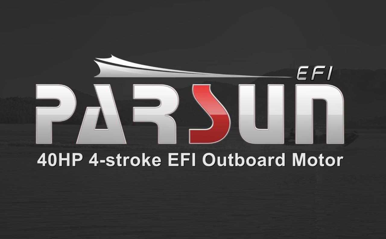 PARSUN 40HP EFI ENGINE LAKE SHOW 2018