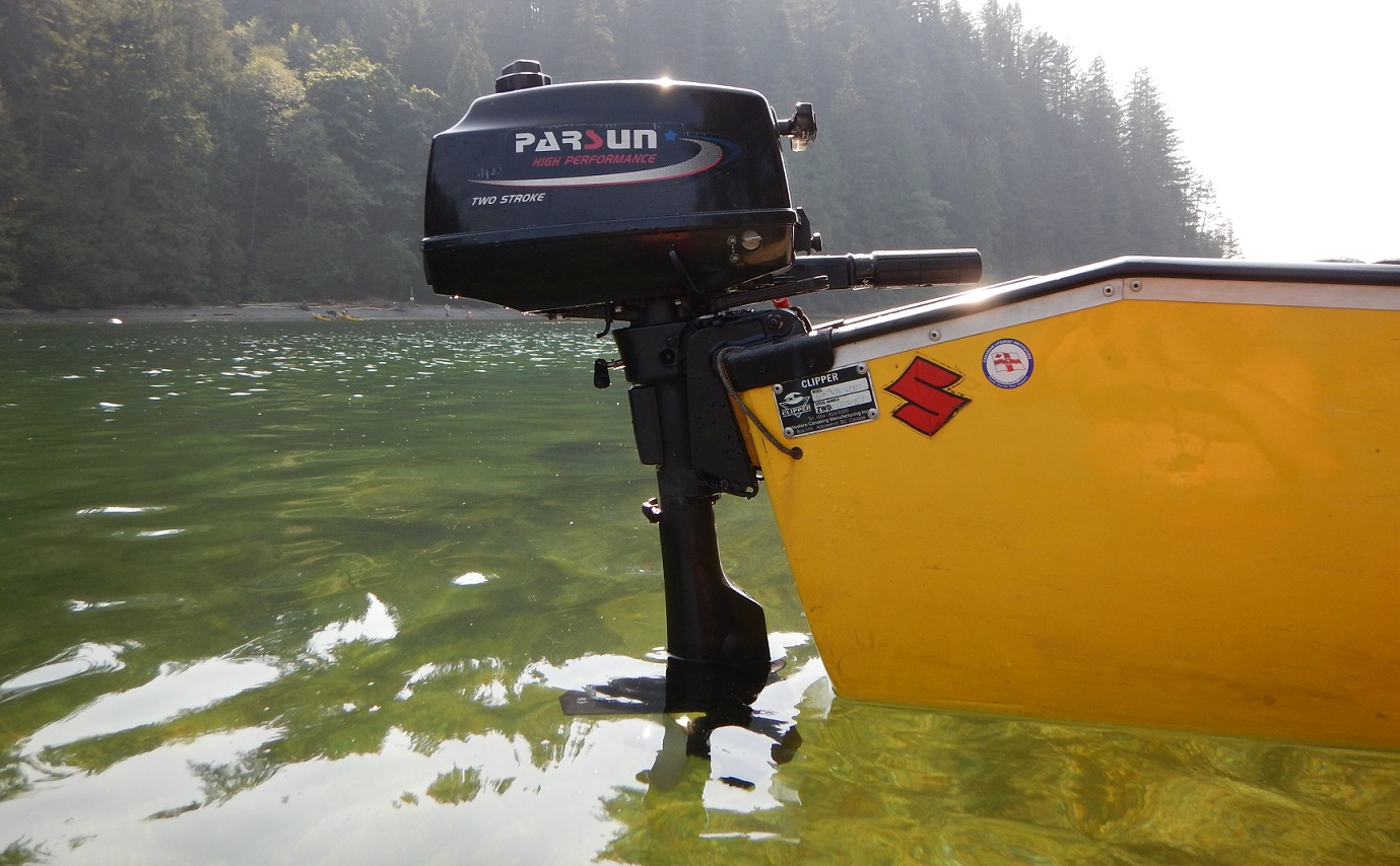 A PARSUN 3.6HP Outboards Story