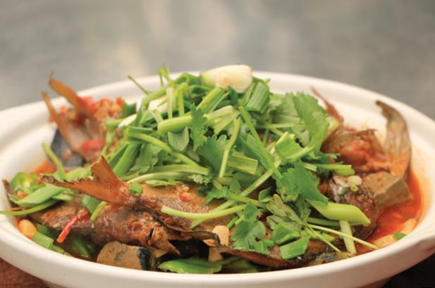 鲳鱼臭豆腐