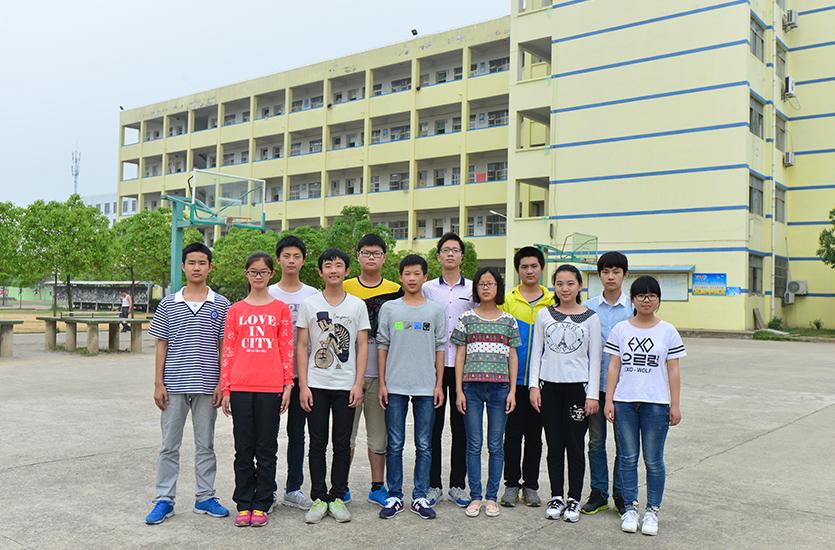 2015宣中直升班学生