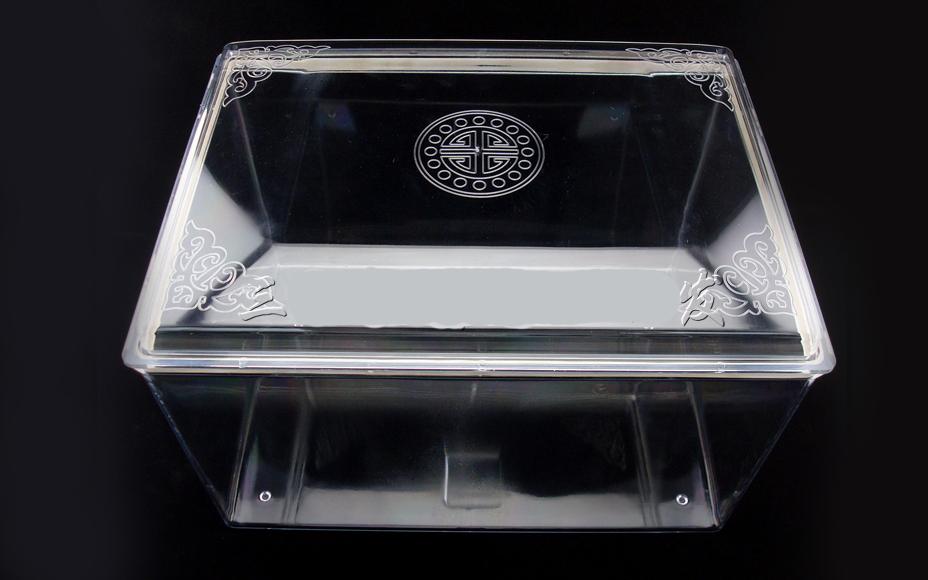 开光骨灰盒保护罩,防潮、防水、防腐蚀