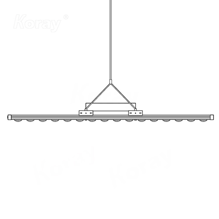 GW78-900Z 大尺寸高PAR输出高功率顶光药用植物生长灯