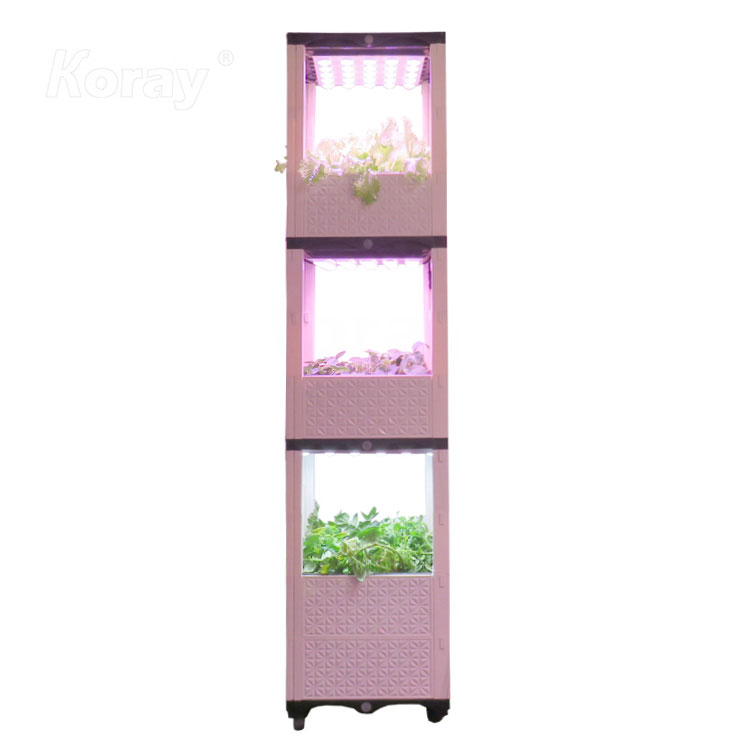 4525KD室内层架蔬果种植箱土培香草调料生长系统