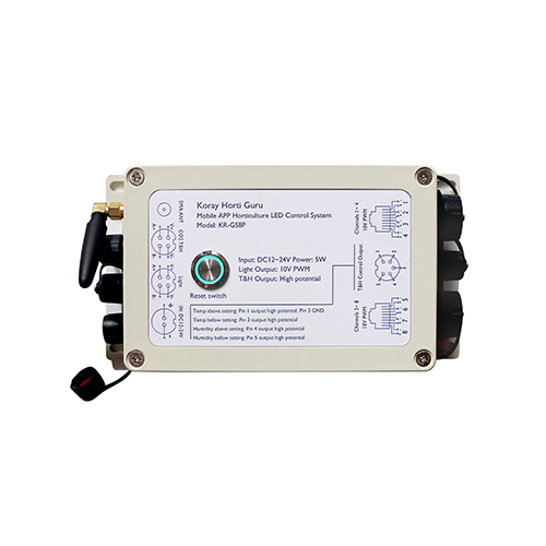 GS8P 手机APP植物灯控制系统植物光照温度湿度控制器