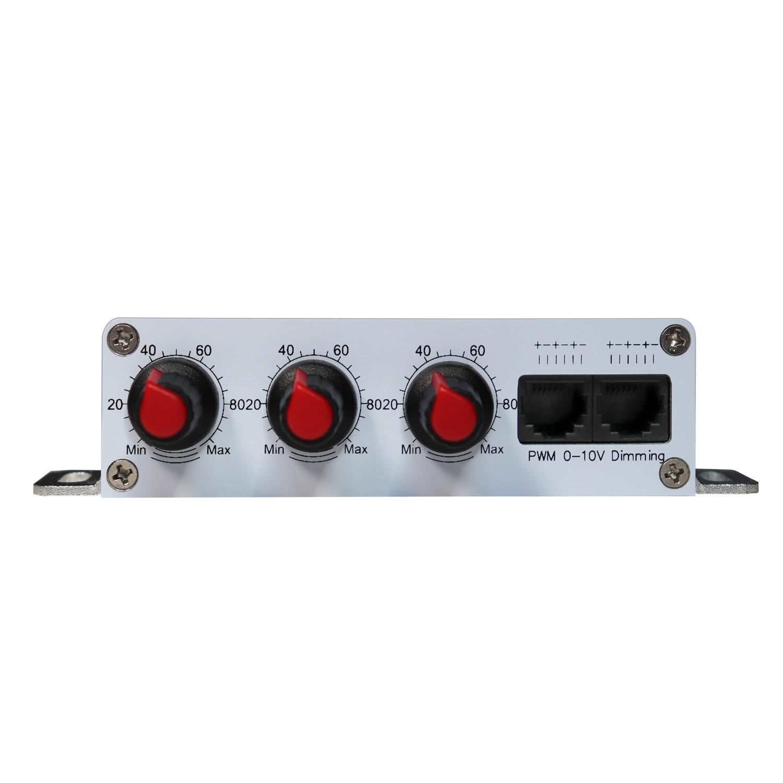 DM25-3H三通道1-10V 调光器