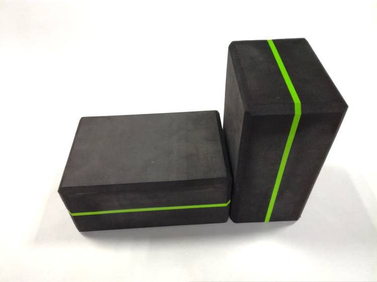 High Density EVA Foam Block to Support and Deepen Poses, Improve Strength and Aid Balance and Flexibility
