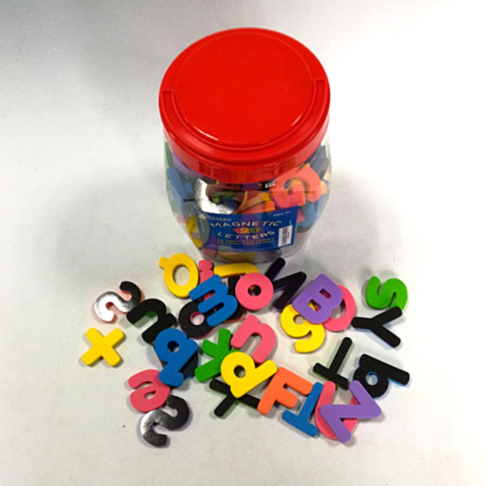EVA magnetic letters