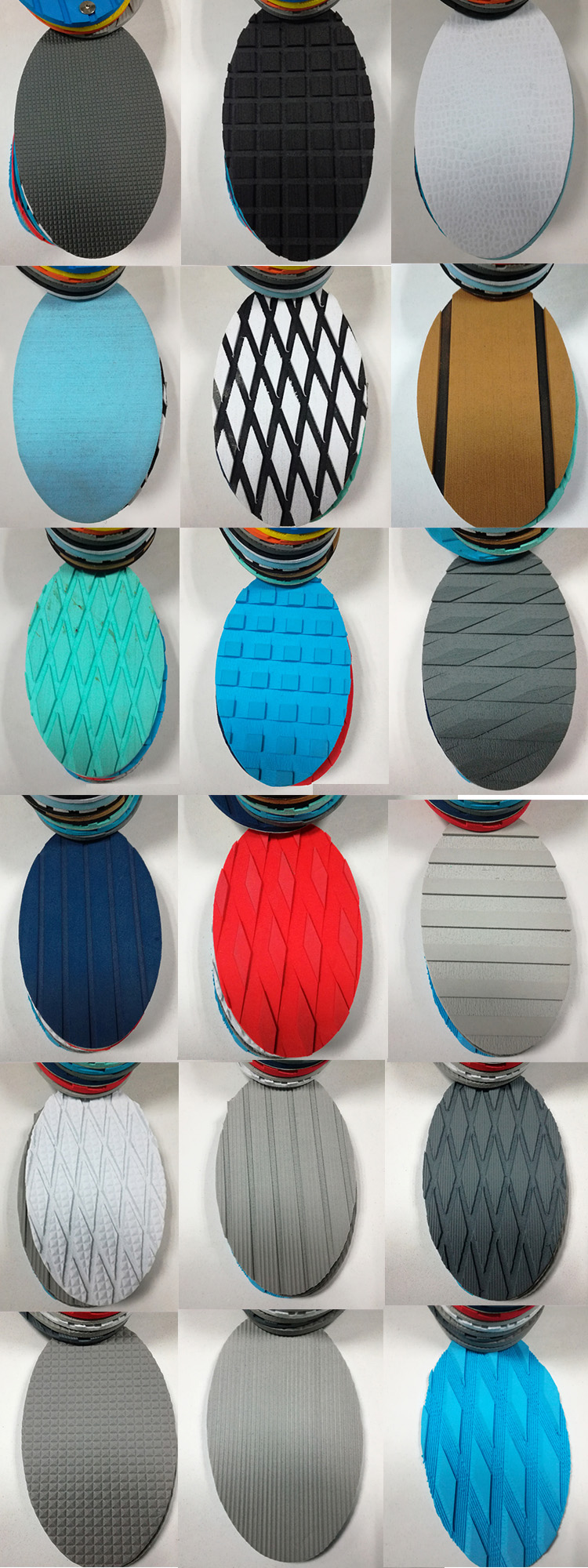 non-skid customized color,size,grooves eva foam surfboard traction pad/ eva decking sheet for marine, paddle board