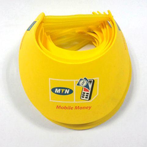 Summer necessities sun-resistant caps yellow eva foam sun visor